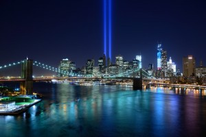 twin tower lights